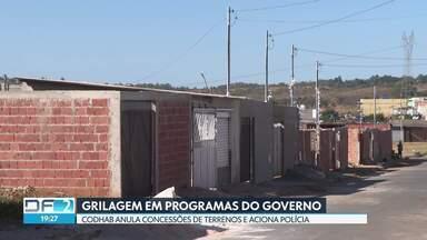 Grileiros invadem lotes de programas habitacionais - Codhab chegou a anular concessões de terrenos em Samambaia e acionou a polícia.