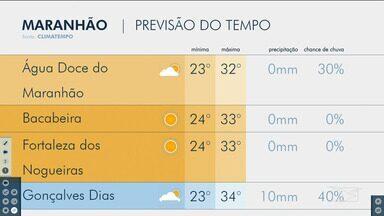 Veja as variações das temperaturas no Maranhão - Confira a previsão do tempo nesta terça-feira (13) em São Luís e também no interior do estado.