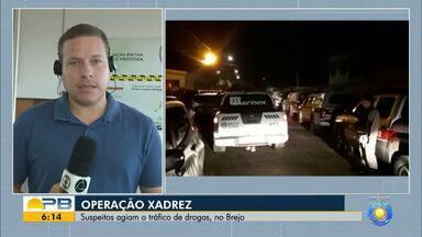Operação de combate ao tráfico de drogas cumpre mais de 50 mandados, no Brejo da Paraíba - Polícias Civil e Militar cumprem 28 mandados de prisão preventiva e 28 de busca e apreensão na capital e em cidades do Brejo paraibano.