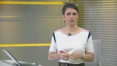 Jornal Hoje - Edição de terça-feira, 13/08/2019 - Os destaques do dia no Brasil e no mundo, com apresentação de Sandra Annenberg.