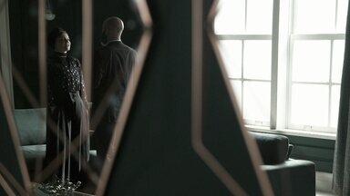 Gabriel garante a Dalila que a denúncia contra Almeidinha será feita - Dalila está ansiosa pelo desfecho do seu plano