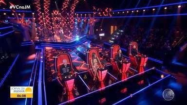 Baianos participam das 'audições às cegas' do The Voice Brasil - Samuel Marques foi o único a passar para a próxima etapa.