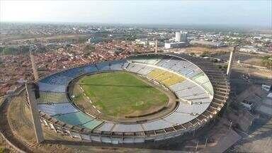 Imagens aéreas do estádio Albertão, em Teresina (2019) - Imagens aéreas do estádio Albertão, em Teresina (2019)