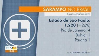 Presidente Prudente te mais um caso suspeito de sarampo - Já são sete suspeitas da doença na cidade.