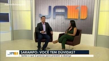 Secretaria de Saúde tira dúvidas sobre sarampo - Órgão investiga dois casos em Goiânia