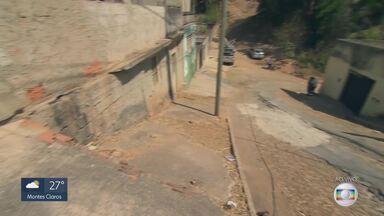 MG Móvel de volta a Santa Luzia - Nossa equipe cobra revitalização de uma escadaria na rua São Paulo.
