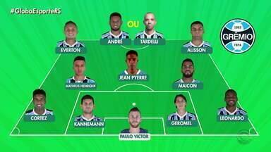 Confira o time Tricolor que deve enfrentar o Athletico-PR - Assista ao vídeo.