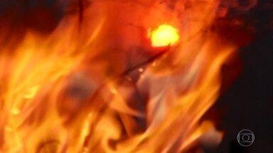 Queimadas atingem vários estados do Norte e do Centro-Oeste do Brasil - Mato Grosso é o estado com maior quantidade de focos de incêndio.