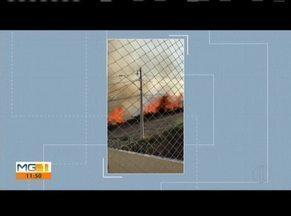 Bombeiros apagam incêndio em cidades do Leste de Minas - Em GV, Bombeiros foram acionados para conter as chamas no Bairro Belvedere. Já em Fabriciano, um incêndio ocorreu no Bairro Santa Terezinha.