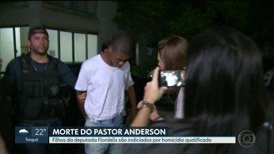 Filhos da deputada Flordelis são indiciados por homicídio qualificado - As investigações sobre a morte do pastor Anderson do Carmo continuam.