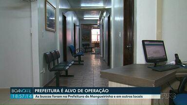 Prefeitura de Mangueirinha é alvo de Operação do Gaeco - As buscas foram na Prefeitura de Mangueirinha, nas casas de servidores e de empresários.