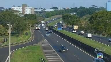 Confira o trânsito nas principais vias de Rio Preto nesta quinta-feira - Confira o trânsito nas principais vias de São José do Rio Preto (SP) na manhã desta quinta-feira (15).