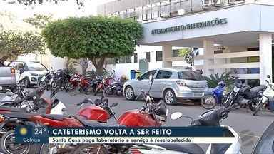 Santa Casa paga laboratório e cateterismos voltam a ser feitos em Rondonópolis - Santa Casa paga laboratório e cateterismos voltam a ser feitos em Rondonópolis