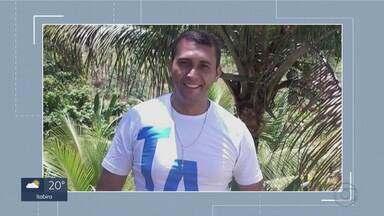 Polícia Civil ouve testemunhas sobre investigação da morte de segurança da Câmara de BH - Corpo de José Rogério dos Santos, de 41 anos, foi encontrado em uma lagoa de Ribeirão das Neves, na Região Metropolitana de Belo Horizonte.