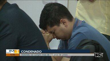 Motorista é condenado a 11 anos e um mês de prisão após matar uma criança em São Luís - Acidente causado pelo motorista resultou na morte de uma menina de oito anos no ano de 2015.