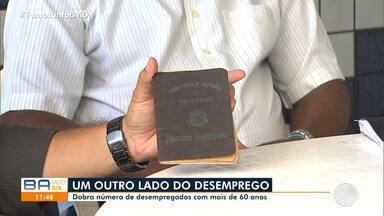 Cresce o número de desempregados com mais de 60 anos na Bahia - Confira também as oportunidades de emprego oferecidas no Sine Bahia nesta quinta e dados da Pnad sobre o mercado de trabalho no estado, no segundo trimestre deste ano.