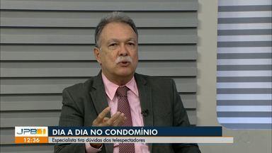 Inaldo Dantas fala sobre a vida em condomínio - Ele tira dúvidas dos telespectadores.