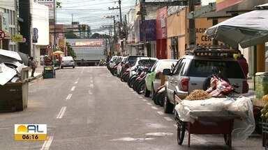 Estacionar é motivo de dor de cabeça para motoristas de Arapiraca - Zona Azul ainda não entrou em vigor no município.