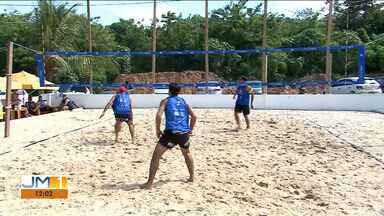 Torneio 'Posto a Open' é disputado em São Luís - Duplas que participam do circuito brasileiro estiveram presentes. O resultado se viu em grandes jogos reforçando o bom momento do vôlei de praia maranhense.