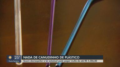 Comerciantes de Araraquara usam alternativas de canudo para evitar plástico - Quem desrespeitar a lei estadual pode pagar multa de até R$ 5,3 mil.