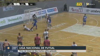 Liga Nacional de Futsal: São Carlos sofre goleada jogando em casa - Partida foi contra o Cascavel e terminou em 5 a 2.