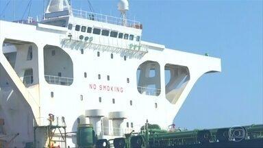 EUA emitem ordem para apreender petroleiro iraniano que ficou retido em Gibraltar - Justiça norte-americana diz que navio violou leis internacionais. Governo do Irã afirmou que 'não garantiu' destino da embarcação, mas reforçou que 'não é a Síria'.