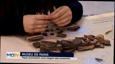 Museu em Pains reúne achados arqueológicos de oito municípios da região - Peças revelam histórias e culturas do Centro-Oeste de MG.