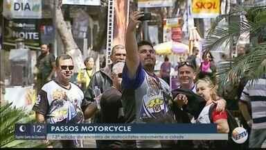 Passos Motorcycles movimenta a economia da cidade - Passos Motorcycles movimenta a economia da cidade
