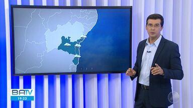 Confira a previsão do tempo para Salvador e o interior do estado - Sábado foi de chuva e vento na capital baiana.