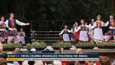 Festa celebra imigração polonesa no Brasil - Evento foi realizado em Curitiba e reuniu culinária, história e apresentações folclóricas, que movimentaram o Bosque do Papa.