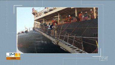 Após serem achados em navio cargueiro, nigerianos são presos em São Luís - Segundo a Capitania dos Portos, a polícia precisou ser chamada, porque os imigrantes estavam dificultando o trabalho de atracação do navio e colocando em risco a segurança da navegação.