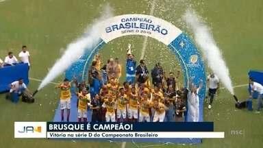 Brusque é campeão da série D do campeonato Brasileiro - Brusque é campeão da série D do campeonato Brasileiro