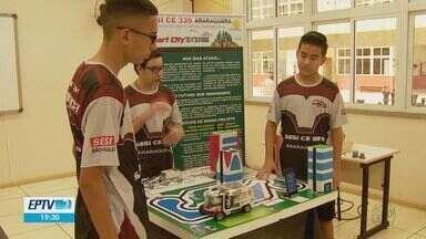Com projeto de robótica, alunos de Araraquara vão disputar vaga em olimpíada mundial - Vaga será definida na etapa estadual, em Presidente Epitácio.