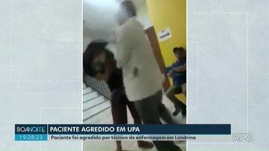 Paciente é agredido dentro de UPA em Londrina - Polícia Civil vai abrir inquérito para apurar o caso.