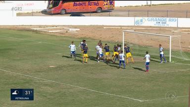 Primeiro de maio empatou com Retrô no Paulo Coelho em Petrolina - Um jogo equilibrado dentro de campo e no resultado.