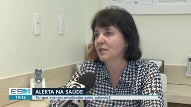 Notícias falsas sobre vacinação contribuem para volta de doenças erradicadas no Brasil - Caso de sarampo foi registrado no Espírito Santo.