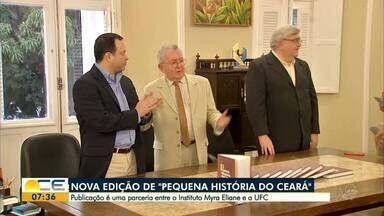Nova edição de 'Pequena História do Ceará' é lançada em Fortaleza - Saiba mais em g1.com.br/ce