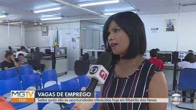Sine em Ribeirão das Neves tem vagas de emprego para cinco profissões; veja - O Sine oferece vagas de padeiro, vendedor externo de produtos alimentícios, operador de trator, pedreiro e mecânico.