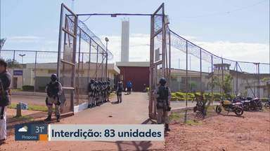 Relatório revela que Minas tem mais de 70 mil presos; estado enfrenta crise penitenciária - O mutirão carcerário foi realizado pelo Tribunal de Justiça de Minas Gerais.