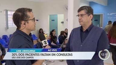 Pacientes faltam em consultas em São José - A cada dez agendamentos, três não comparecem.