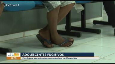 Três adolescentes que fugiram de Marabá foram encontrados no Maranhão - Os jovens foram encontrados no bagageiro de um ônibus de viagem