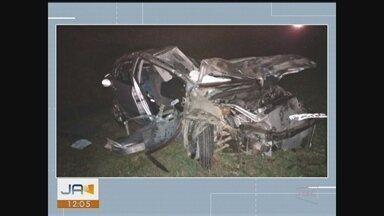 Jovem de 25 anos morre após acidente na BR-101 em Içara - Jovem de 25 anos morre após acidente na BR-101 em Içara