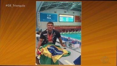 Nadador de Uberlândia conquista sete medalhas no Mundial Máster na Coreia do Sul - Felipe Maia comenta alegria por superar objetivos na competição