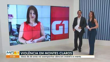 Confira os destaques do G1 nesta terça-feira (20) - Motorista fica preso às ferragens após tombar caminhão na MGC-122, em Capitão Enéas.
