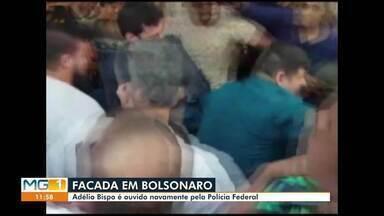 Adélio Bispo é ouvido pela Polícia Federal - Inquérito investiga se houve participação de terceiros que investiga atentado contra Jair Bolsonaro.