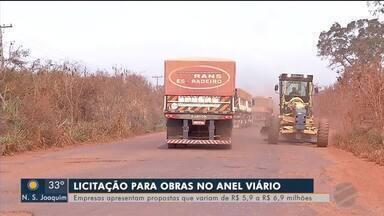 Quatro empresas apresentam propostas para obra de Anel Viário - Quatro empresas apresentam propostas para obra de Anel Viário