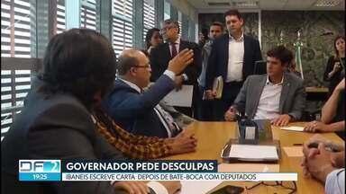 Ibaneis Rocha pede desculpas depois de discussão na Câmara - O governador e deputados discutiram na última segunda-feira sobre a militarização nas escolas.