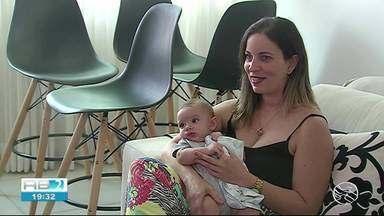 Especialista fala sobre importância do leite materno - Leite materno é fundamental para a saúde do bebê.