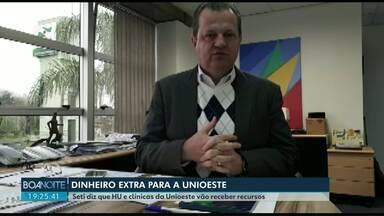 Unioeste vai receber dinheiro extra para o HU e clínicas - O valor vai repor os 30% retidos pelo governo federal através da DREM.