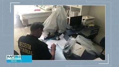 Receita Estadual faz operação de combate à sonegação fiscal em Janaúba e Montes Claros - Operação Sono dos Justos teve como alvos 10 empresas que vendem colchões no Norte de MG. Estimativa de prejuízos iniciais é de R$ 2 milhões.